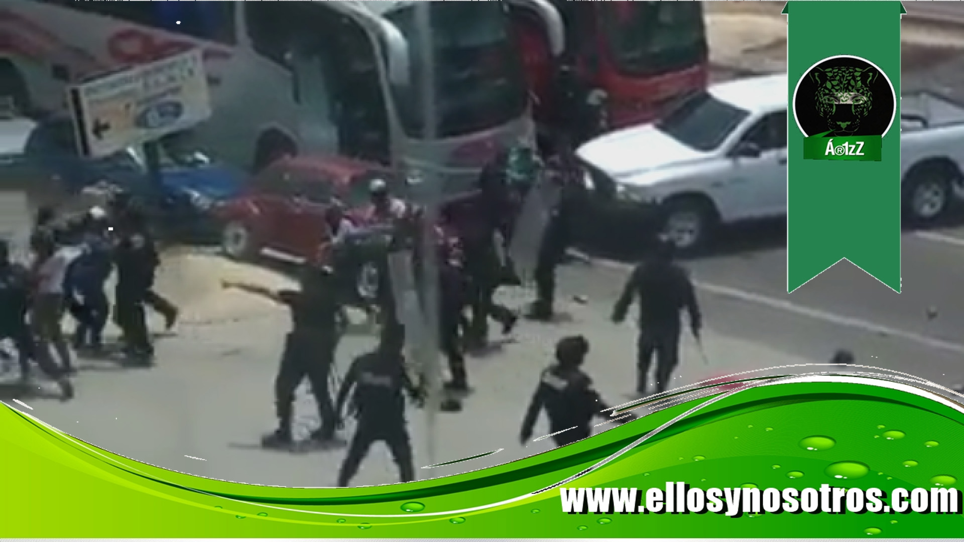 Solidaridad con los normalistas de Chiapas. Cien de los 236 permanecen detenidos (videos)