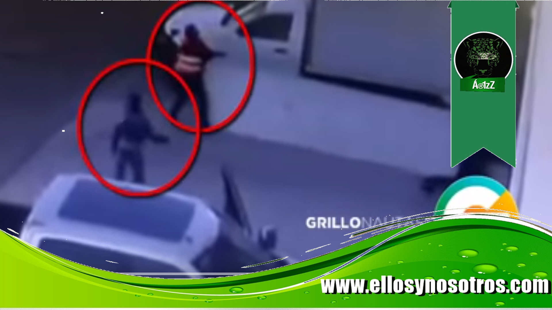Cámaras graban a sicarios asesinando a un hombre en Zapopan, Jalisco (video)