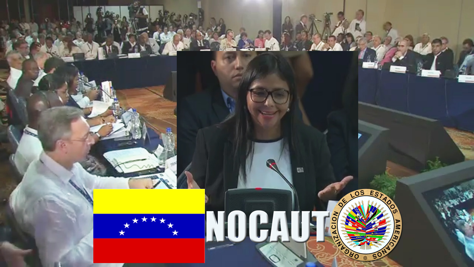 El NOCAUT de la canciller de Venezuela en la 47 Asamblea de la OEA en Cancún