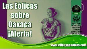Bettina Cruz contra parque eólico