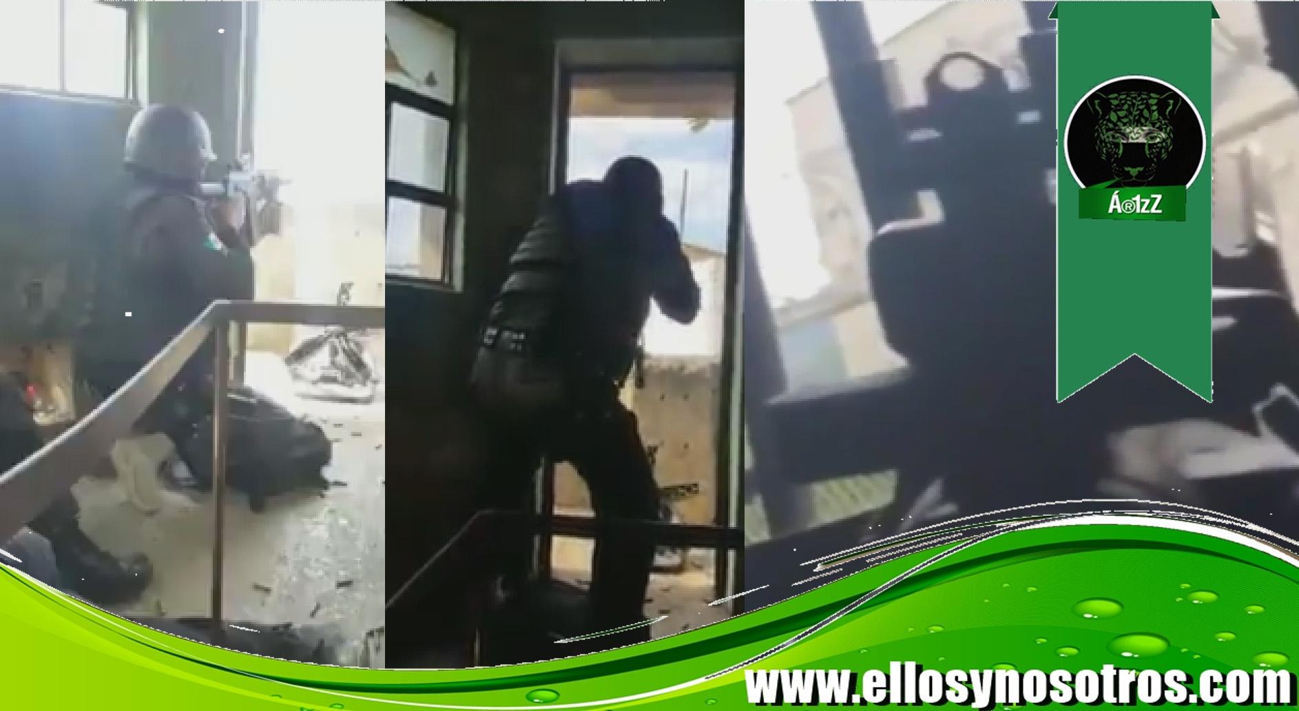 Las imágenes grabadas por los militares del enfrentamiento a tiros en el penal de Ciudad Victoria