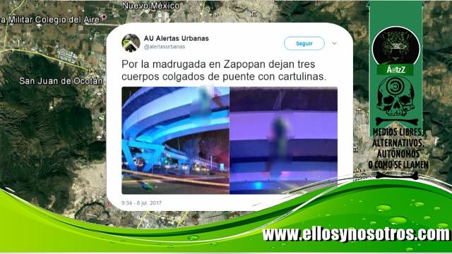 Jalisco regresa a los tiempos de 'los colgados de puentes'