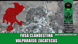 Fosa clandestina, Zacatecas