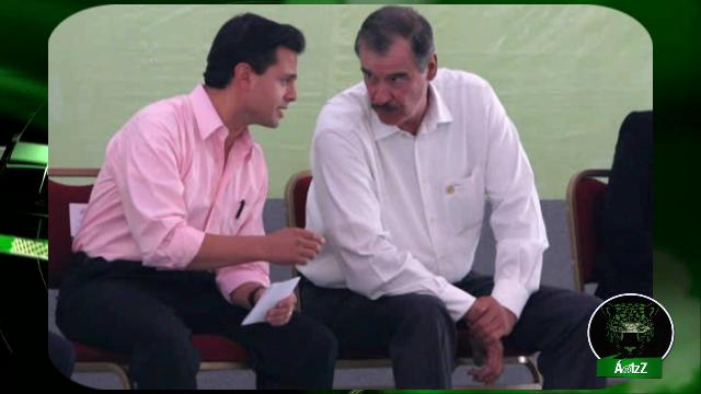 Vicente Fox confirma que en 2012 apoyó a Peña Nieto