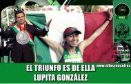 El delincuente EPN se cuelga la medalla de plata de Lupita González en Londres