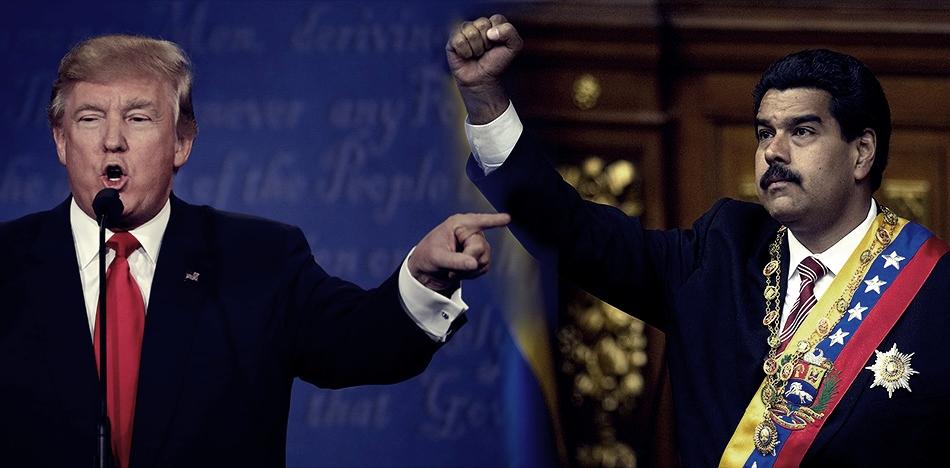 Trump amenaza con intervención militar en Venezuela. Maduro responde