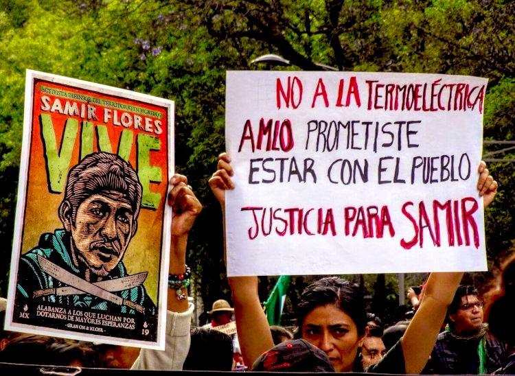 Samir Flores, un año sin justicia