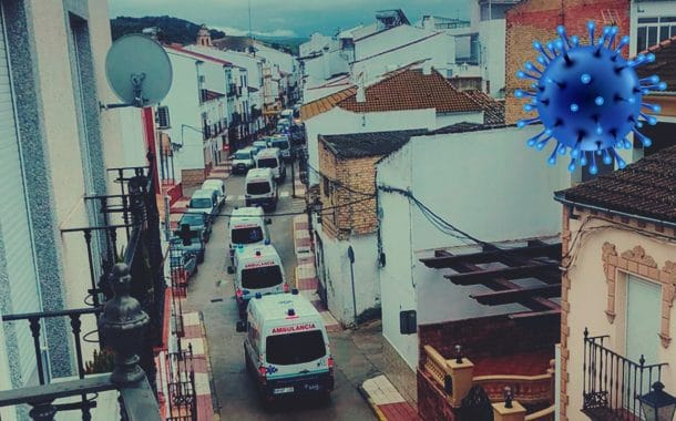 #COVID19 En España apedrean vehículos con ancianitos infectados en Cádiz