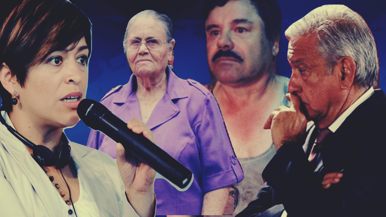 El saludo de López a la madre del Chapo es un asunto de seguridad nacional: Anabel Hernández