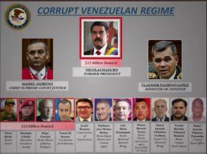 Ofrecen recompensa de 15 millones de dólares por Nicolás Maduro