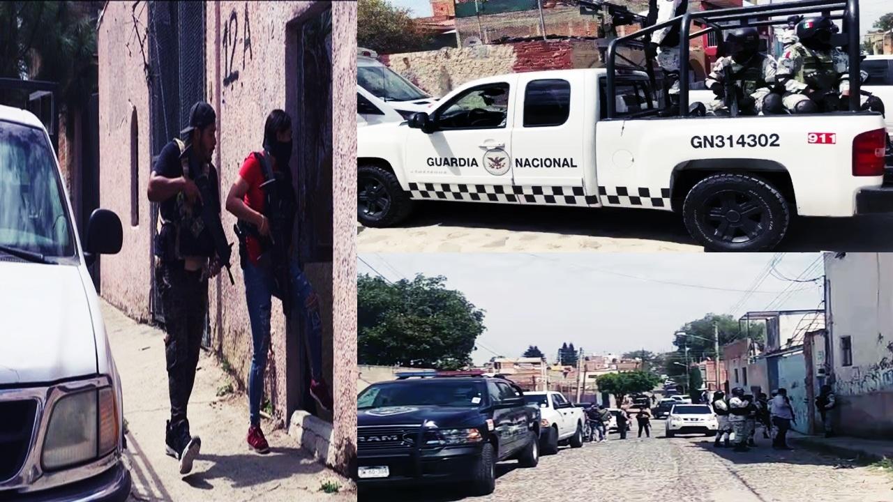 Operativo antisecuestro de la FGE Jalisco terminó en fuerte balacera #Videos