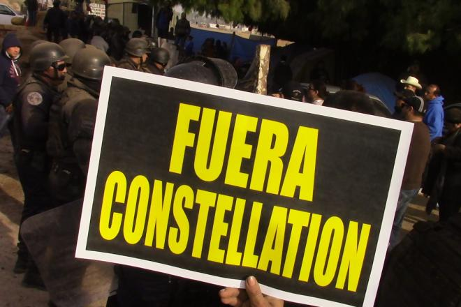 Mexicali Resiste al intento del despojo del agua para entregarla a Constellation Brands