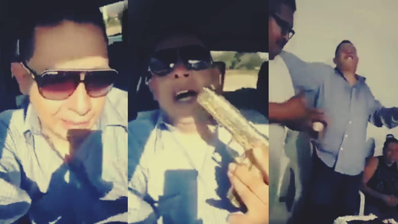 Elemento de la Guardia Nacional en estado de ebriedad y disparando con su arma en una fiesta