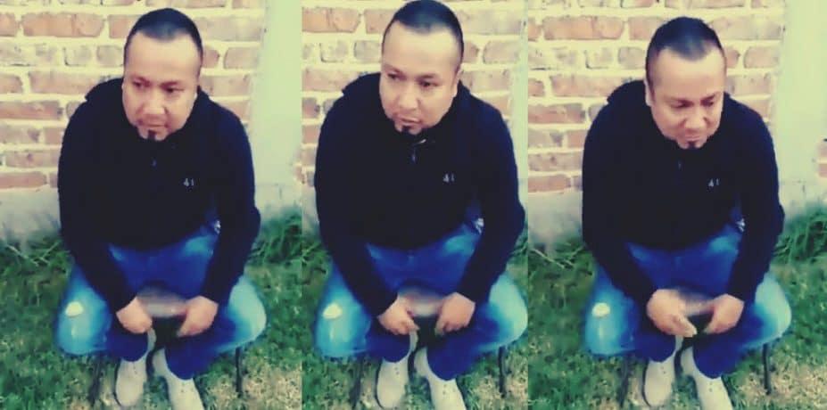 El Marro aparece en video al borde de las lágrimas