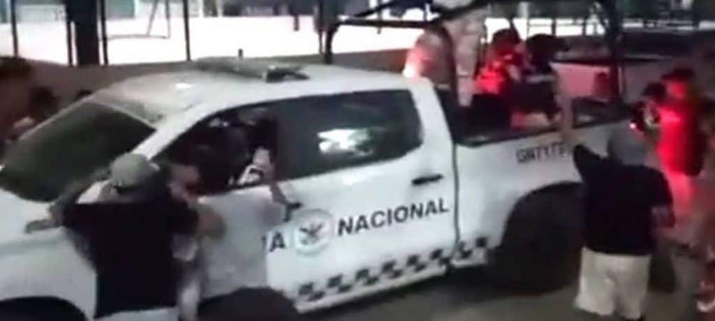 Guardia Nacional disparó contra civiles en La Venta