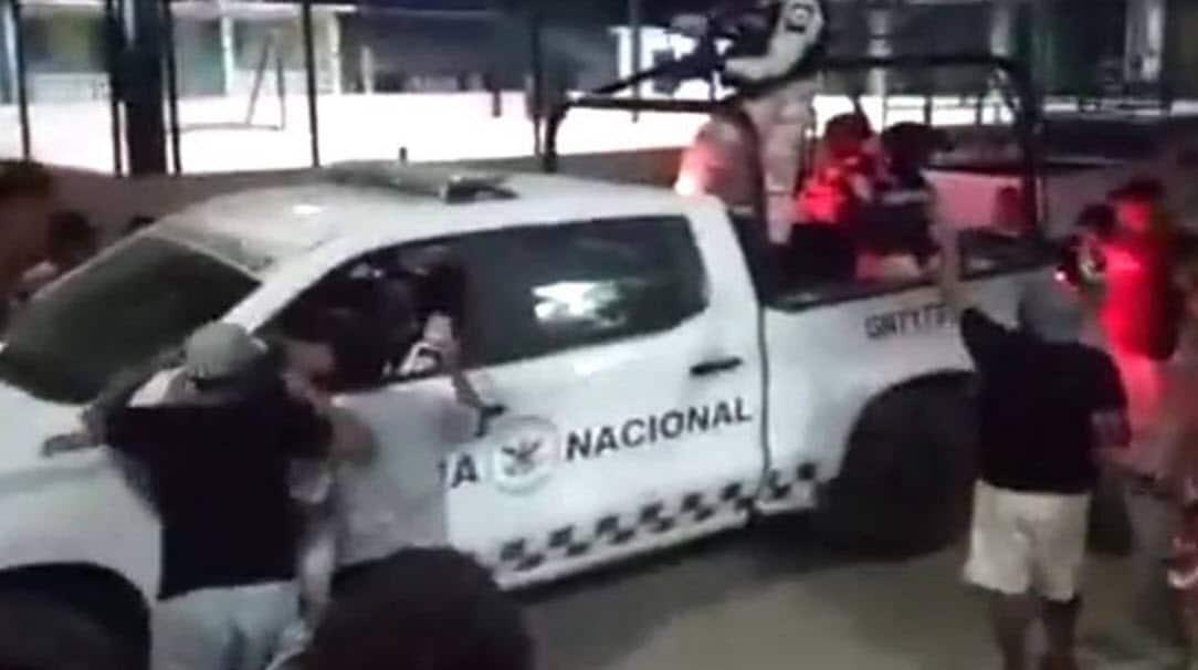 Guardia Nacional disparó contra civiles en La Venta, Acapulco, Guerrero; hay heridos