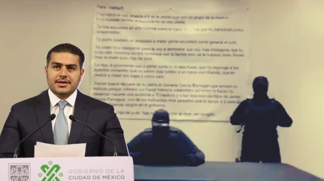 Otra vez contra García Harfuch: