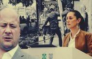 Sheinbaum y Alfaro reprimen protestas en CDMX y Jalisco