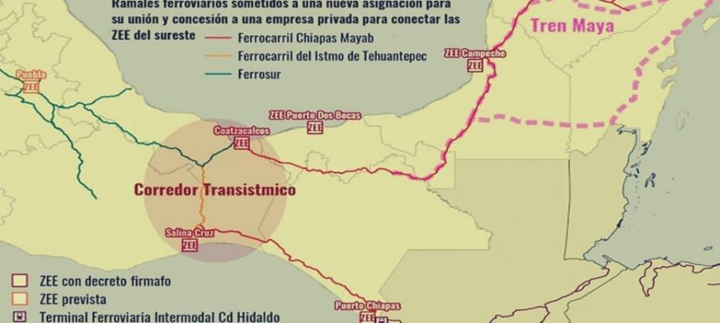 Corredor Interocéanico del Istmo de Tehuantepec; otro proyecto neoliberal de la #4T REMA