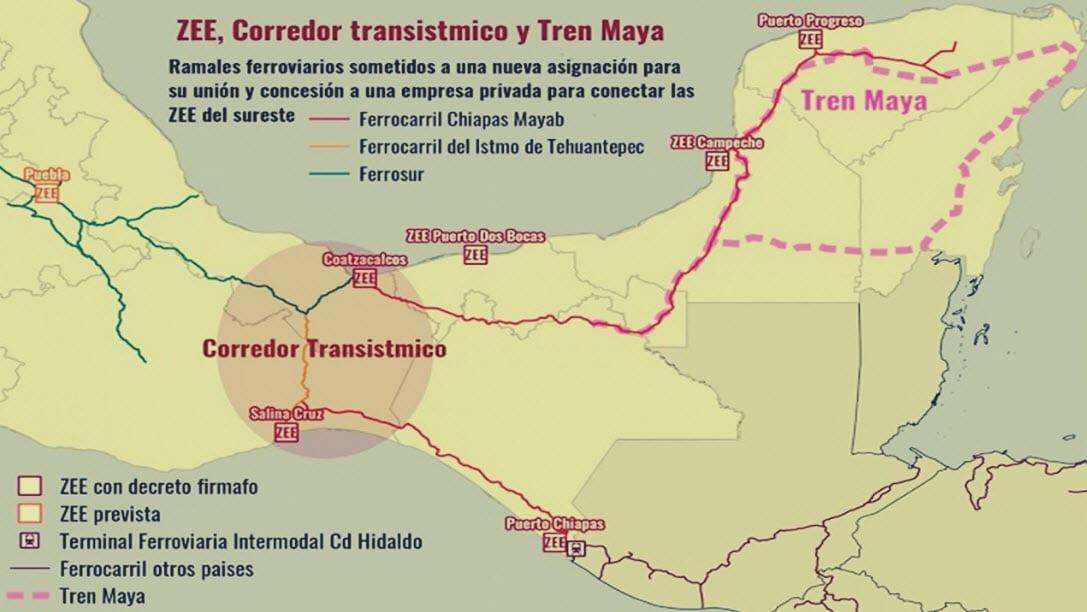 Corredor Interoceánico del Istmo de Tehuantepec; otro proyecto neoliberal de la #4T: REMA