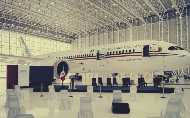 El avión presidencial: el grotesco
