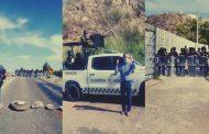 Guardia Nacional reprime agricultores en la Presa