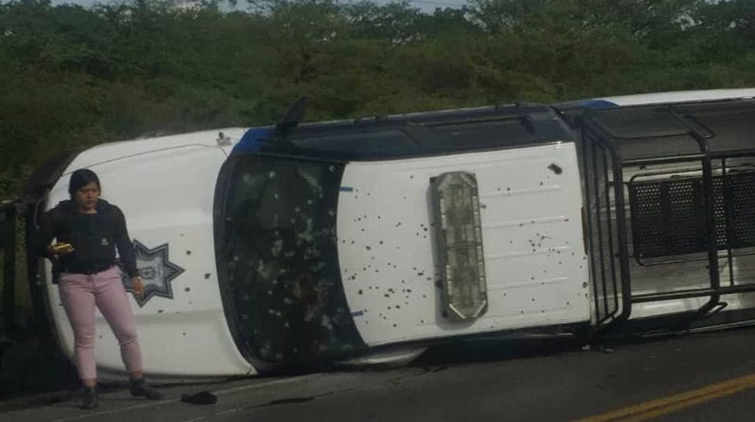 Nuevo ataque a la policía en Guanajuato; hay cinco fallecidos en Jerécuaro