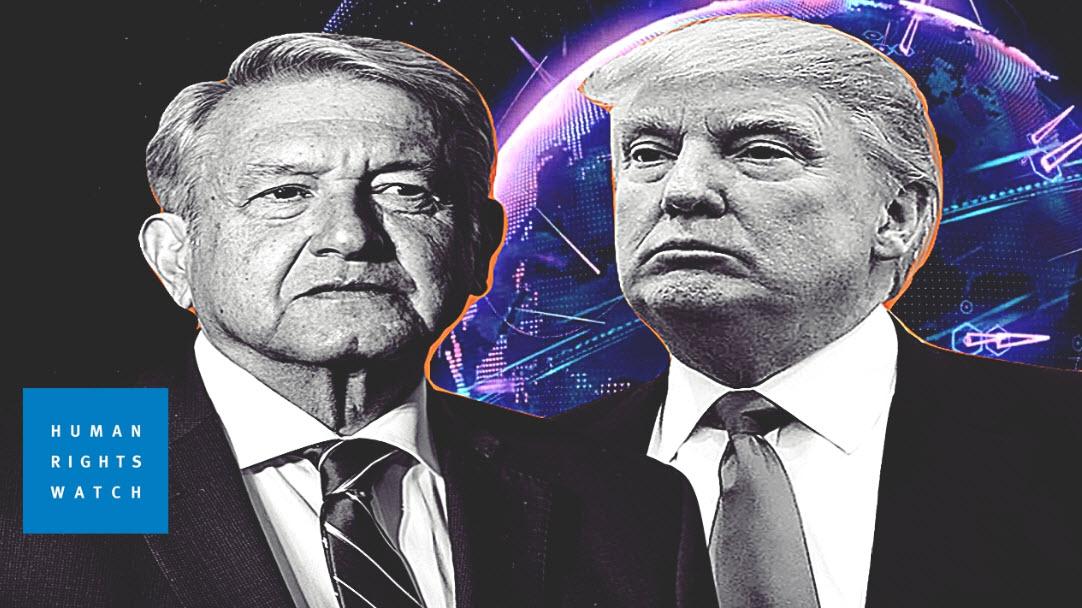 ¿Qué tienen en común López Obrador y Trump? Ambos violan derechos humanos