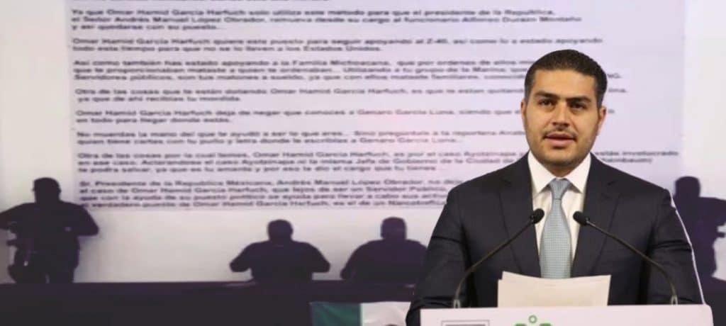 Vuelven a señalar a García Harfuch de colaborar con la delincuencia organizada