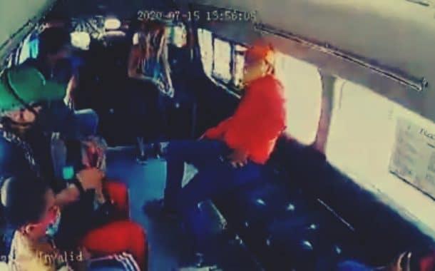 Dos asaltos en el transporte público; el segundo con