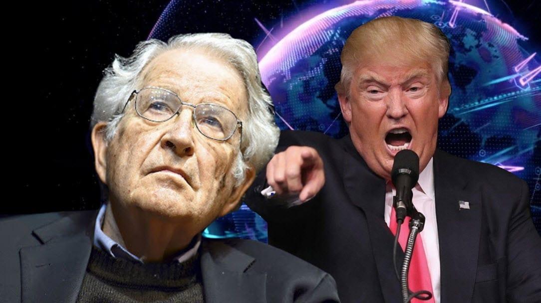 Votar por Trump es peor que votar por Hitler: Noam Chomsky