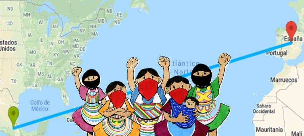 EZLN viajará a Europa en 2021