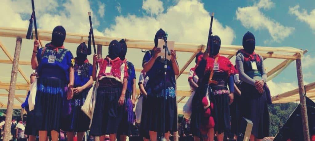 La mirada y la distancia a la puerta (Quinta Parte) EZLN
