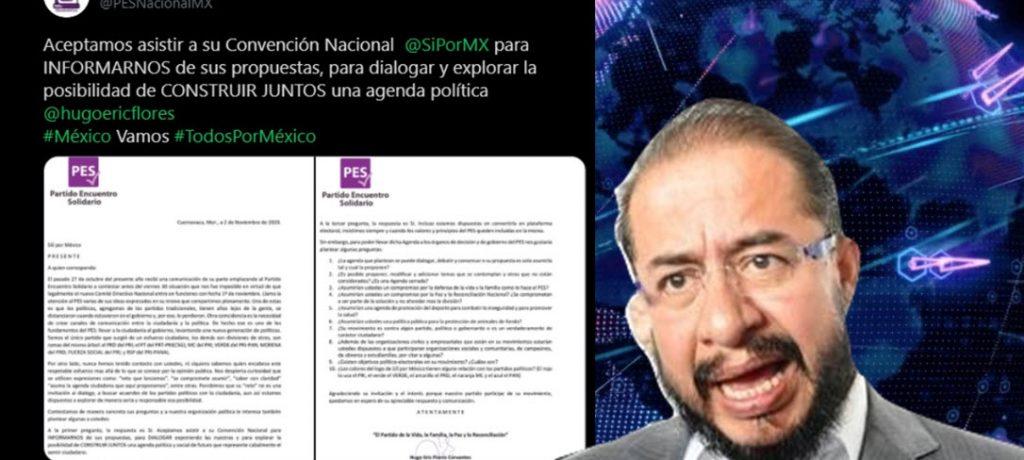 Los evangélicos del PES se aliarían con Sí por México