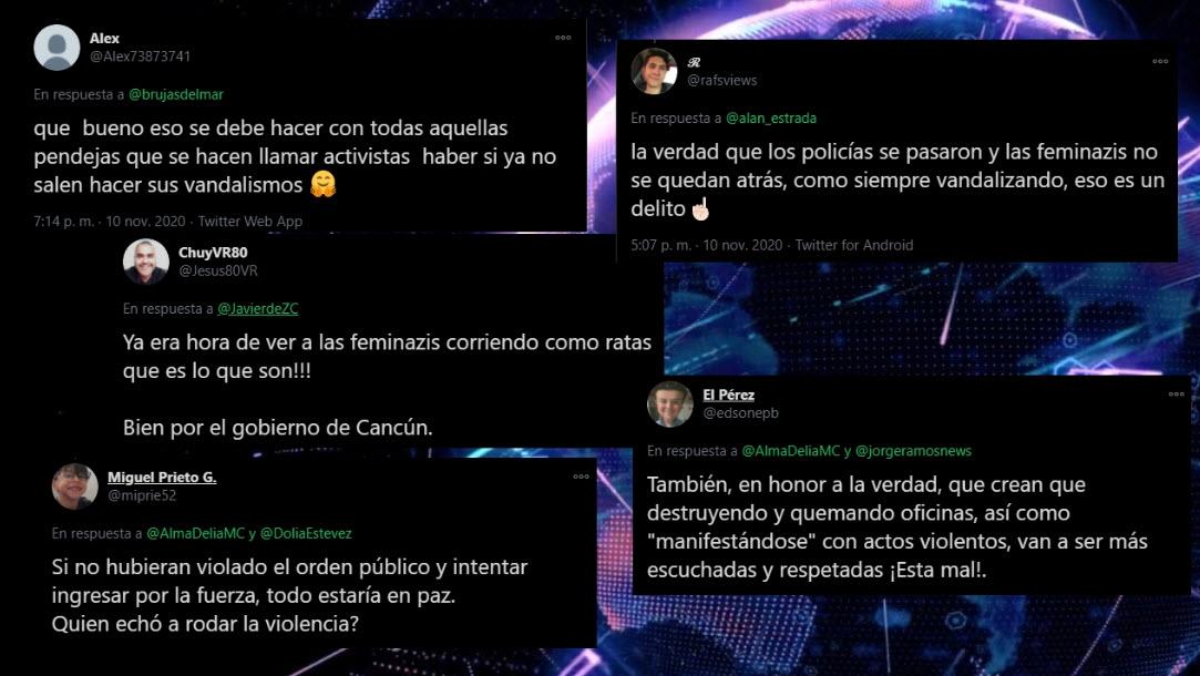 Tras la represión en Cancún, volvieron a aparecer los