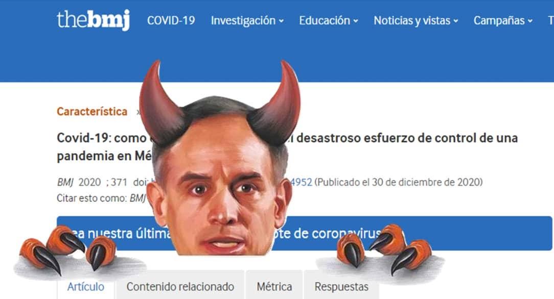 The British Medical Journal califica como 'desastroso' el manejo de la pandemia en México