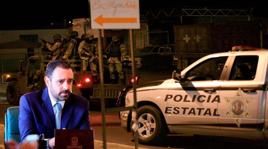 Gobernador de Zacatecas hace llamado desesperado a AMLO por la violencia que vive la entidad