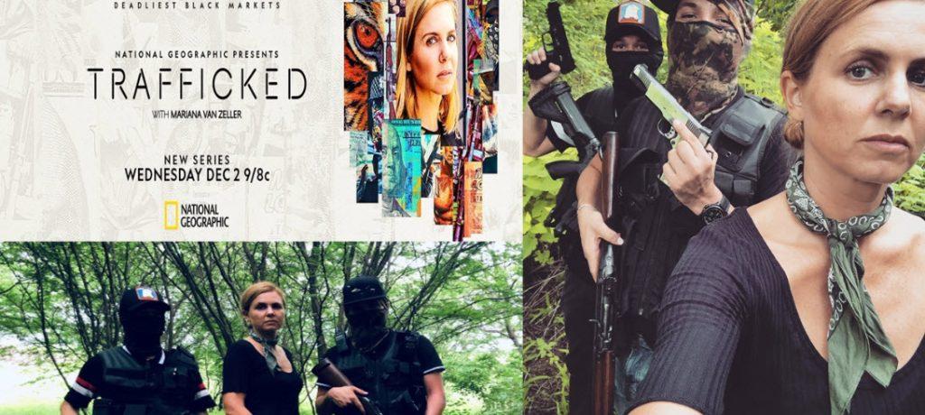 El tráfico de armas a México descubierto en una serie documental Trafficked
