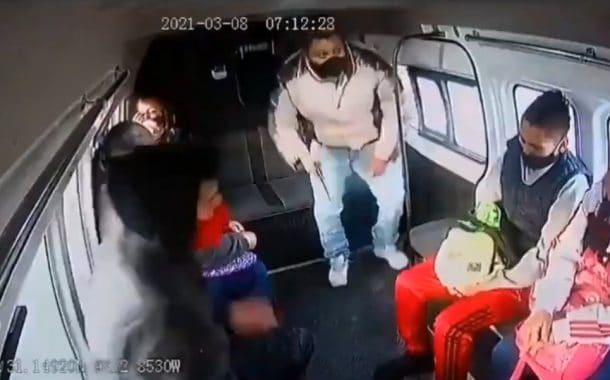El asalto al transporte público de todos los días; ahora en Ecatepec