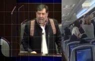 Noroña quiere sanción a Aeroméxico, porque pasajeros insultaron a AMLO