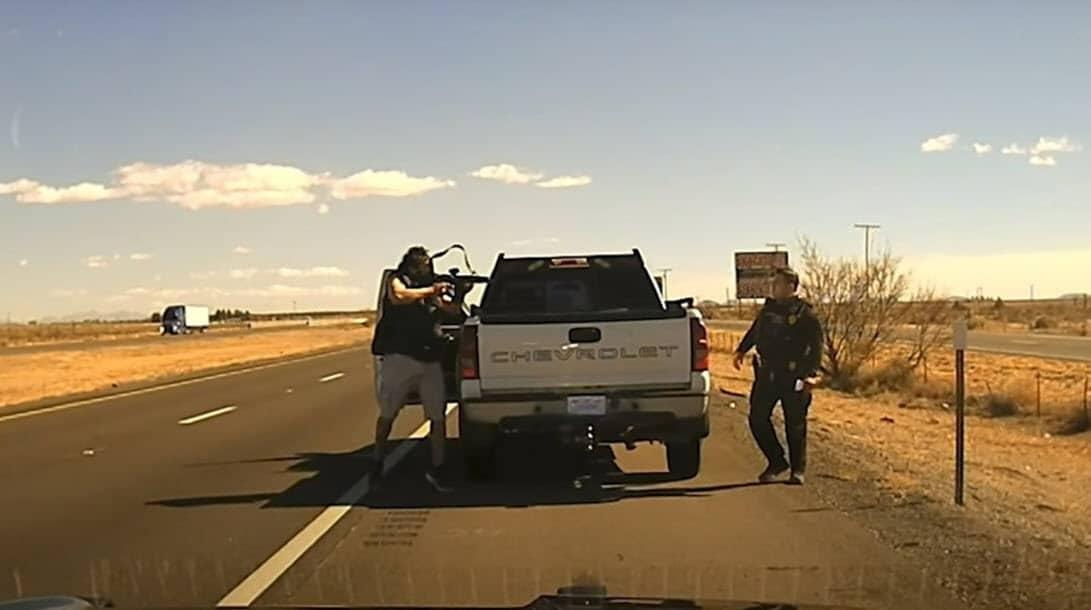 Un narco dispara a un agente de la policía de Nuevo México, Estados Unidos
