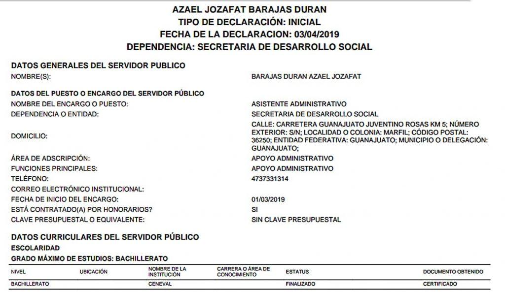 """De chofer del Superdelegado a director regional de las """"becas para el bienestar Benito Juárez"""""""