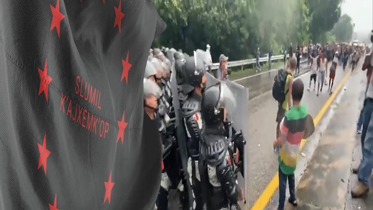 Represión contra caravanas migrantes: piden respeto a DDHH desde Europa